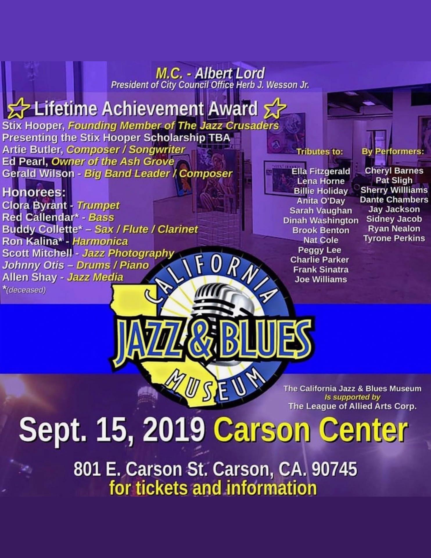 California Jazz & Blues Museum
